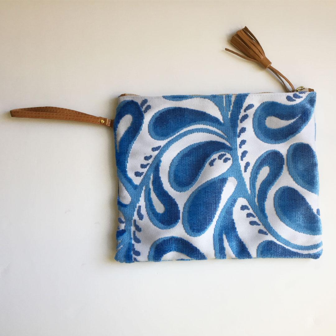 lucille ocean blue swirl